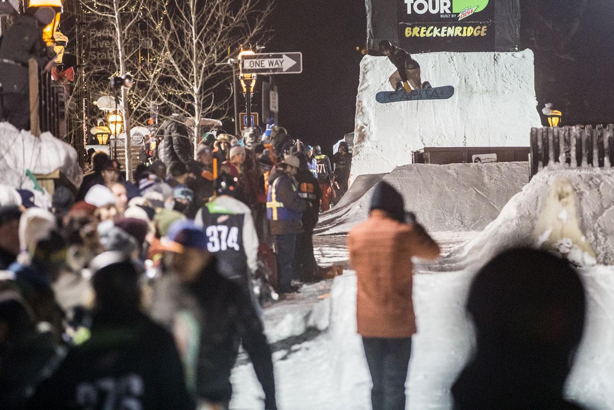 Frank Bourgeois Dew Tour. Photo: Mike Yoshinda